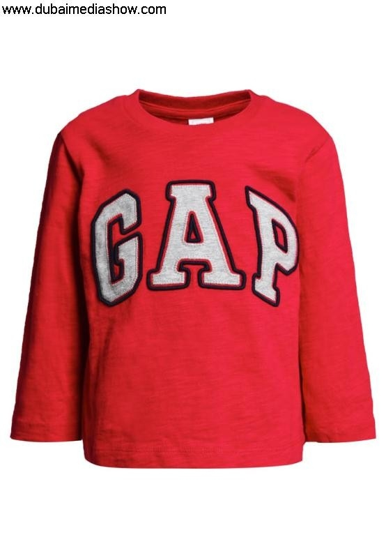 GAP Contain Kids Shirts  Tops Long sleeved top authentic modern Dresses100 - redGAP KMOTUYZ268
