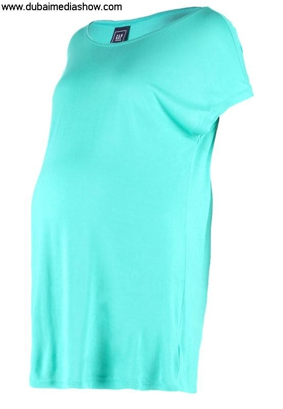 GAP Maternity Women Tops Print T-shirt - Modern southern collection and shirts turquoisegap blousesnew BDGKMRUW01