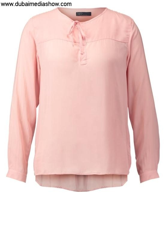 GAP Women Answer Blouses  Tunics POPOVER - Tunic - standardgap jeans salepremium selection pink FGIJOPRVX2