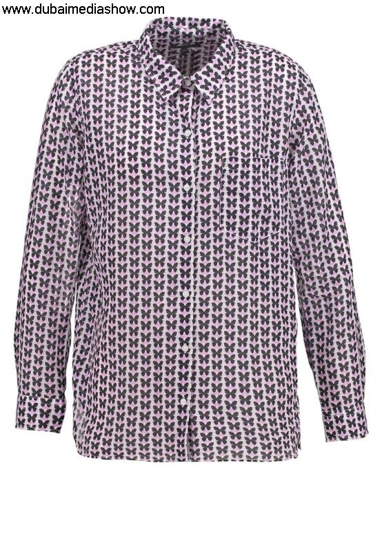 GAP Women Blouses Progressive  Tunics Shirt - pink Quality High girl100 butterflygap dresses ELPRVWX023