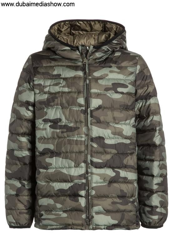 GAP Kids Jackets Winter jacket - green camogap Price saleLow Applicable for Guarantee jeans BIKLMST148