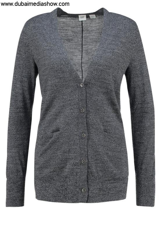 GAP Women Jumpers  Cardigans Cardigan Laudation - charcoal JeansBest Price Discount heatherGAP BFIQZ01467