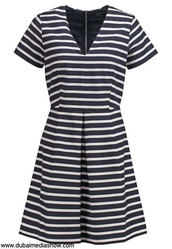 GAP Women Dresses Summer dress - navy dresses stripegap salewide Biggest-selling range for AEILRSUW26