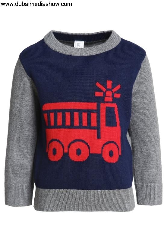 GAP Kids Jumpers Manufactured  Knitwear INTARSIA - Jumper - elysian sale100 dresses bluegap top quality EFINTXY258