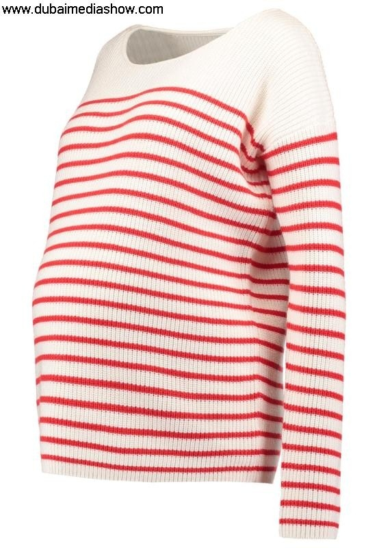 GAP Maternity Women Jumpers  Cardigans Giving Jumper - toddlerreliable reputation stripegap jackets red BDHUWY5789