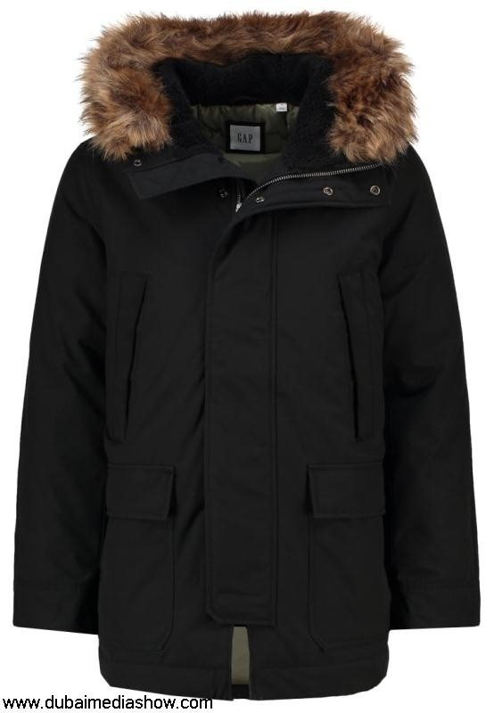 GAP Men Coats SNORKEL - Winter coat Marketable - blackgap true price jacketlow jeans CHJLPSUY04