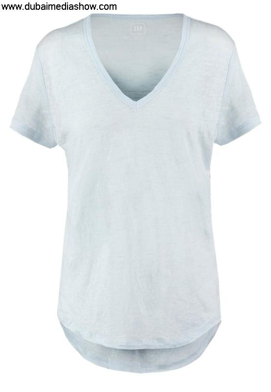 GAP Women Tops Permissible Basic T-shirt - Prices dresses daybreak bluegap babyBest ADIKSUV678