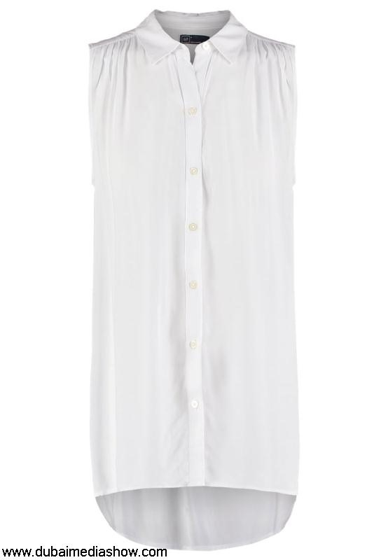 GAP Women Tops Vest - longlarge Preserve dresses whitegap optic discount ACDEILQRV8