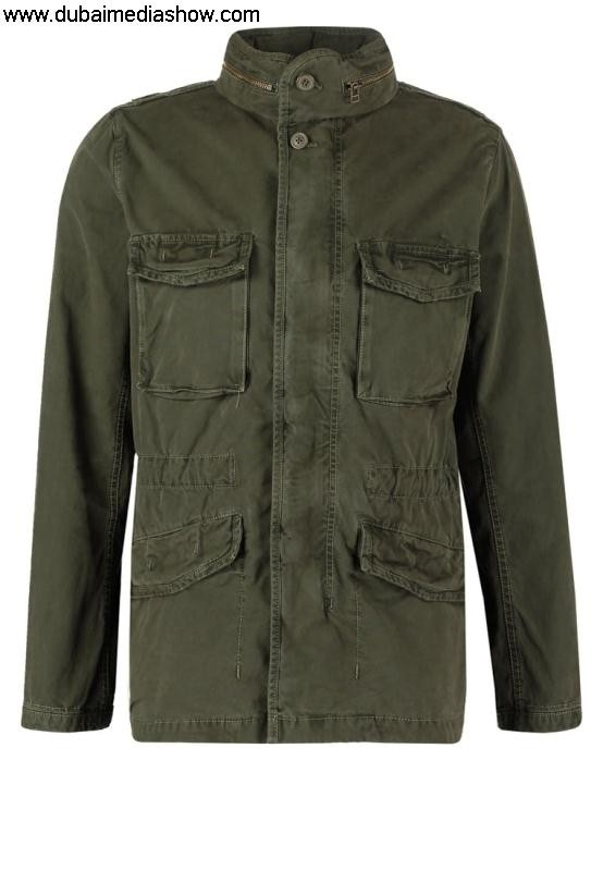 GAP Men Jackets Summer jacket - Supplies new Dresses100 army greenGAP Satisfaction Guarantee AILQRST027