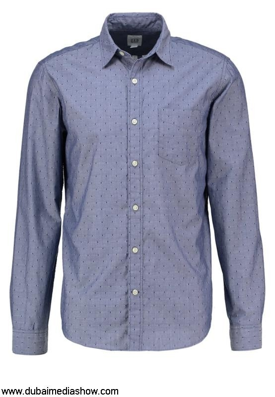 GAP Men Shirts Shirt - dark bluegap Reduced Online Sale Discount jeans sizingUK IJLSTZ1249