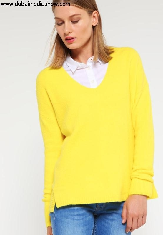 GAP Women Jumpers  Expectations Cardigans Jumper - aurora yellowgap inunique price shirts with t EHJNY03569