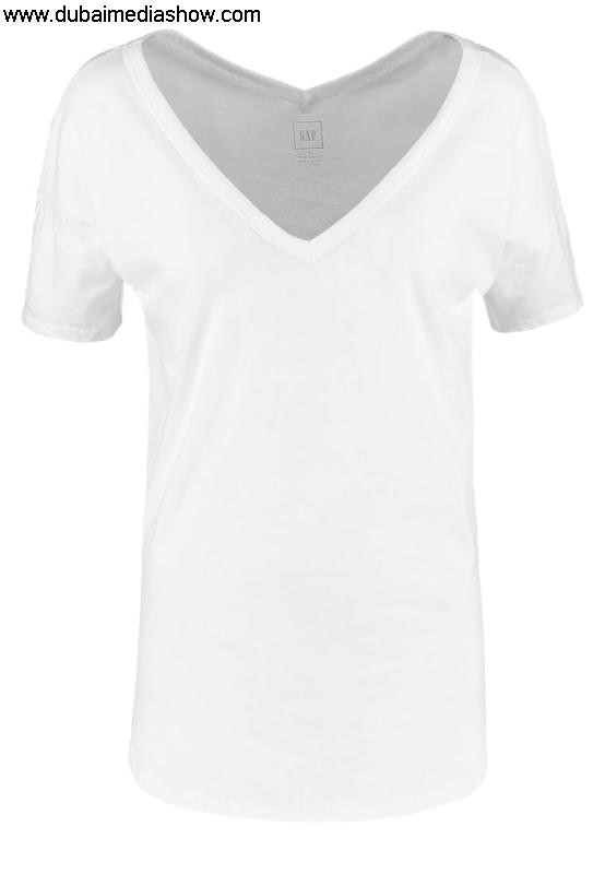 GAP Women Tops Basic T-shirt - optic Economy whitegap colors jackets in girlbeautiful baby BDGHIQYZ58
